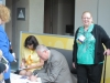 Deb and David Busy Signing Books
