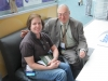 David with Leigh, Whose Stories are Prominently Featured in The Librarian's Skillbook